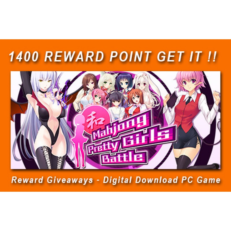 Reward Giveaways - Mahjong Pretty Girls Battle - Digital Download PC Game