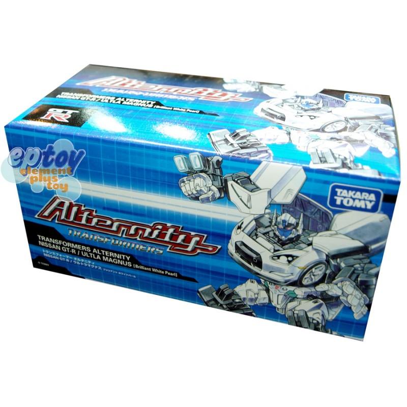 Transformers Alternity A-01U Nissan GT-R Ultla Magnus Brilliant White Pearl