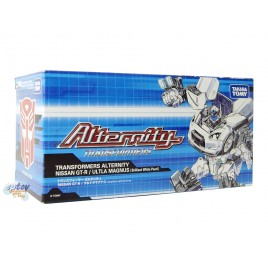 Transformers Alternity A-01U Nissan GT-R Ultla Magnus Brilliant White Pearl