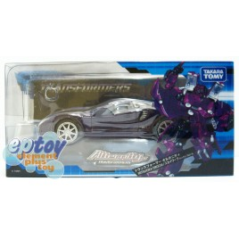 Transformers Alternity A-04 Mitsuoka Orochi Skywarp Witch Purple Pearl