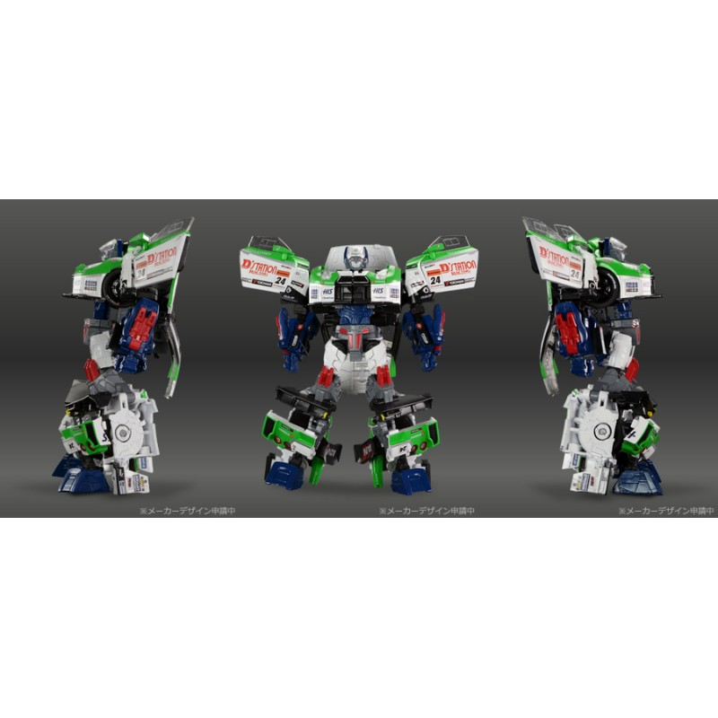 Transformers Alternity Super GT Mission GT-04 GT-R Maximus