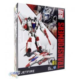 Transformers Generations Cyber Battalion Series Jetfire