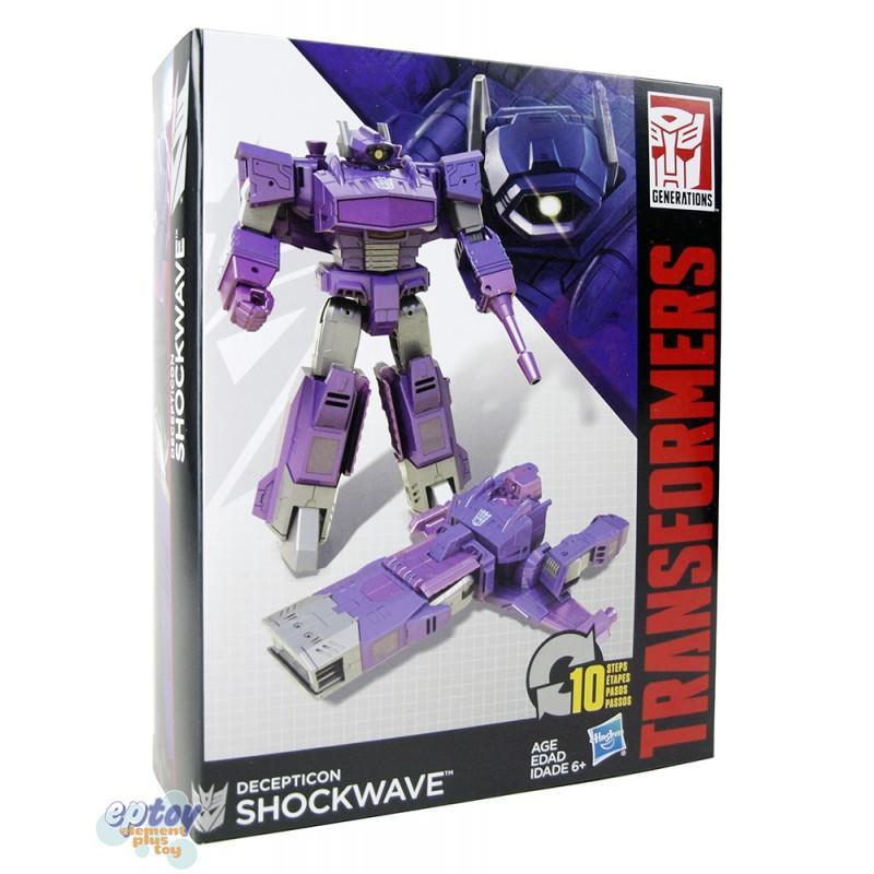 Transformers Generations Cyber Battalion Series Shockwave Sideswipe Prowl Jetfire Set