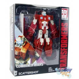 Transformers Generations Combiner Wars Voyager Class Scattershot