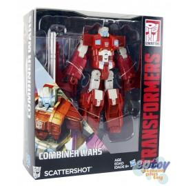 Transformers Generations Combiner Wars Voyager Class Scattershot