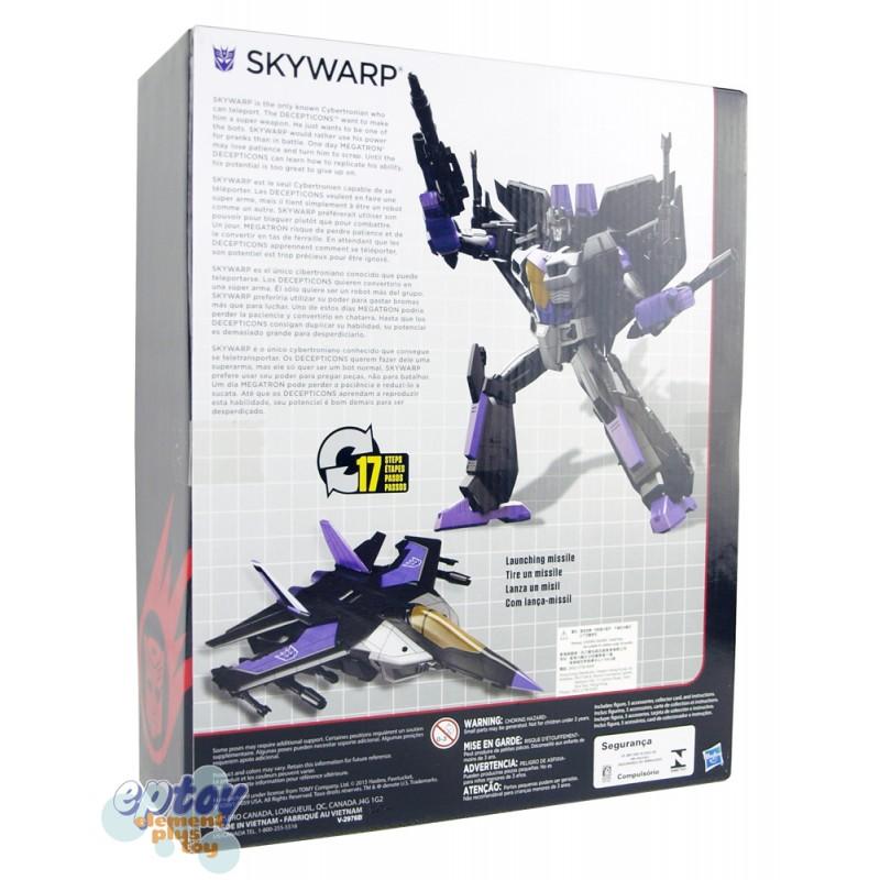 ... Transformers Generations Combiner Wars Leader Class Skywarp