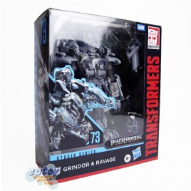 Transformers The Move Studio Series Leader Class SS-73 Grindor & Ravage