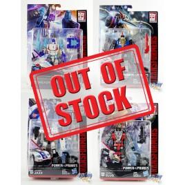 Transformers Generations Power of the Primes Deluxe Class Jazz Slug Swoop Dreadwind Set