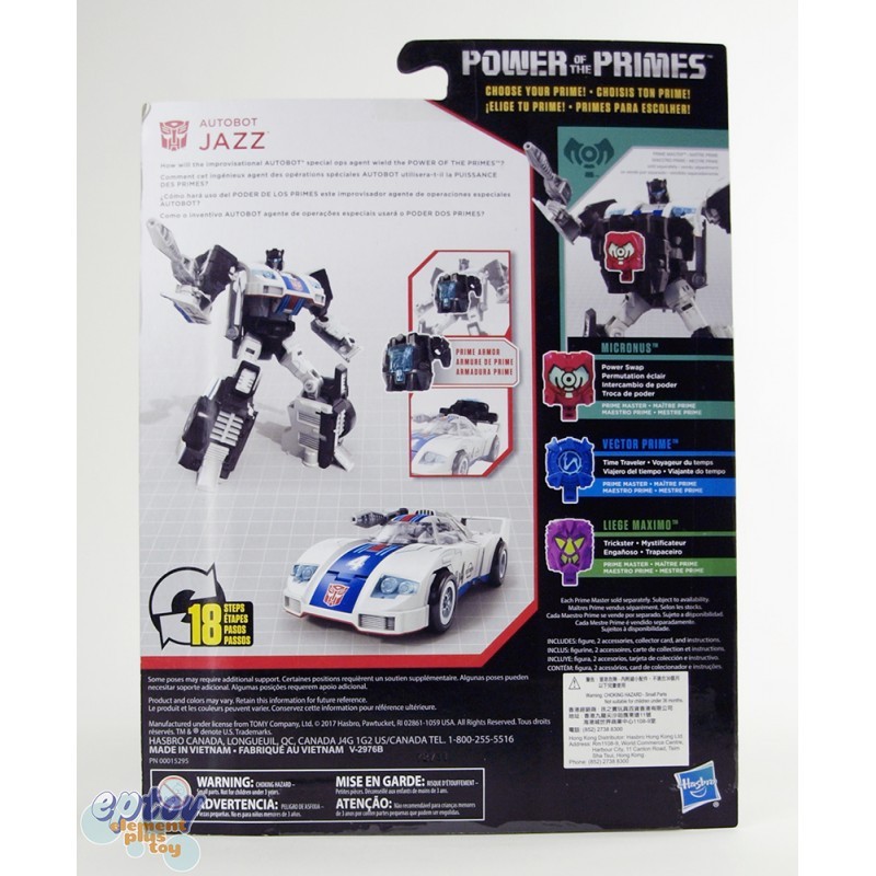 Transformers Generations Power of the Primes Deluxe Class Jazz Slug Swoop Dreadwind Set