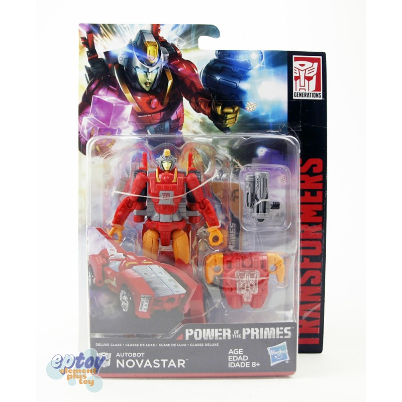 Transformers Generations Power of the Primes Deluxe Class Novastar