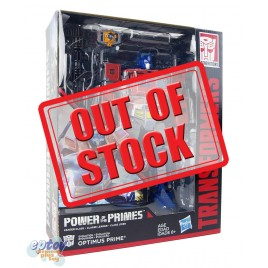 Transformers Generations Power of the Primes Leader Class Evolution Optimus Prime