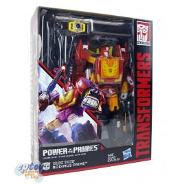 Transformers Generations Power of the Primes Leader Class Evolution Rodimus Prime