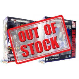 Transformers Generations Power of the Primes Voyager Class Grimlock & Starscram Set
