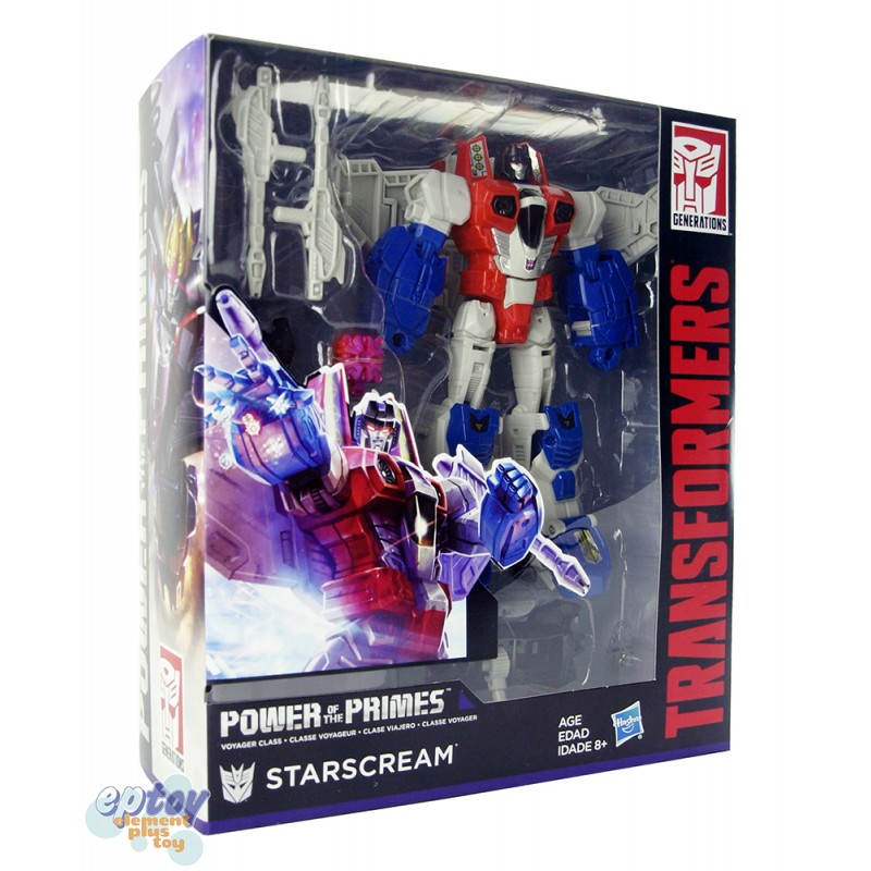 Transformers Generations Power of the Primes Voyager Class Starscram