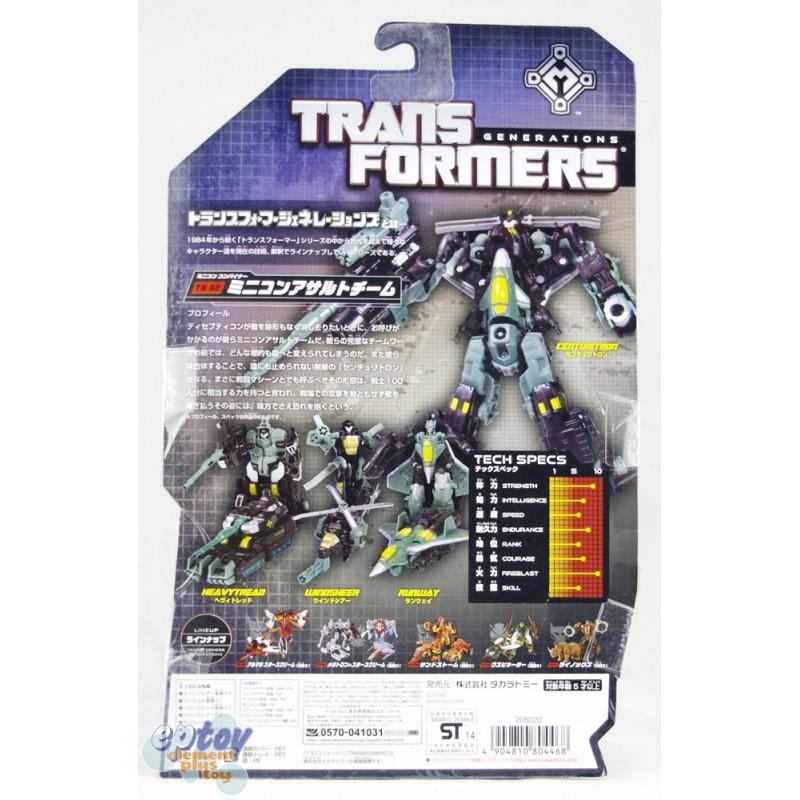 Transformers Generations TG-32 Mini-Con Assault Team