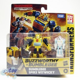 Transformers WFC Generations War For Cybertron Buzzworthy Bumblebee Spike Witwicky