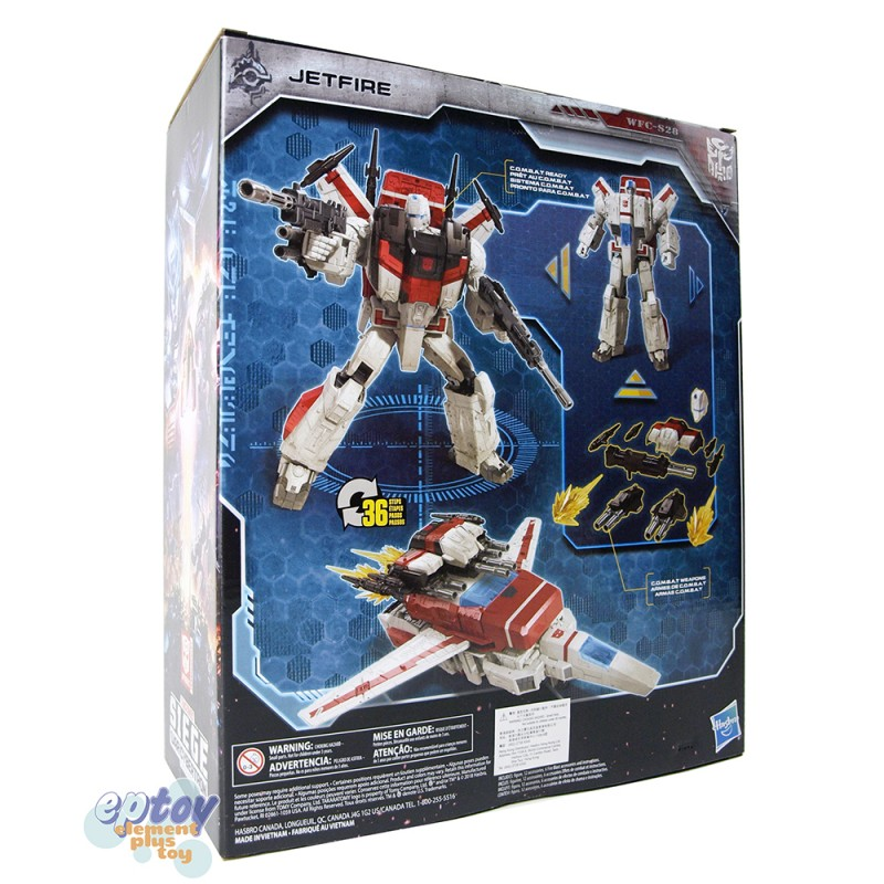 Transformers WFC SIEDE War For Cybertron Commander Class S28 Jetfire
