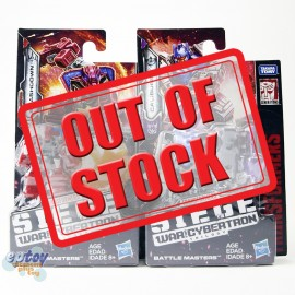 Transformers WFC SIEDE War For Cybertron Battle Masters Caliburst & Smashdown