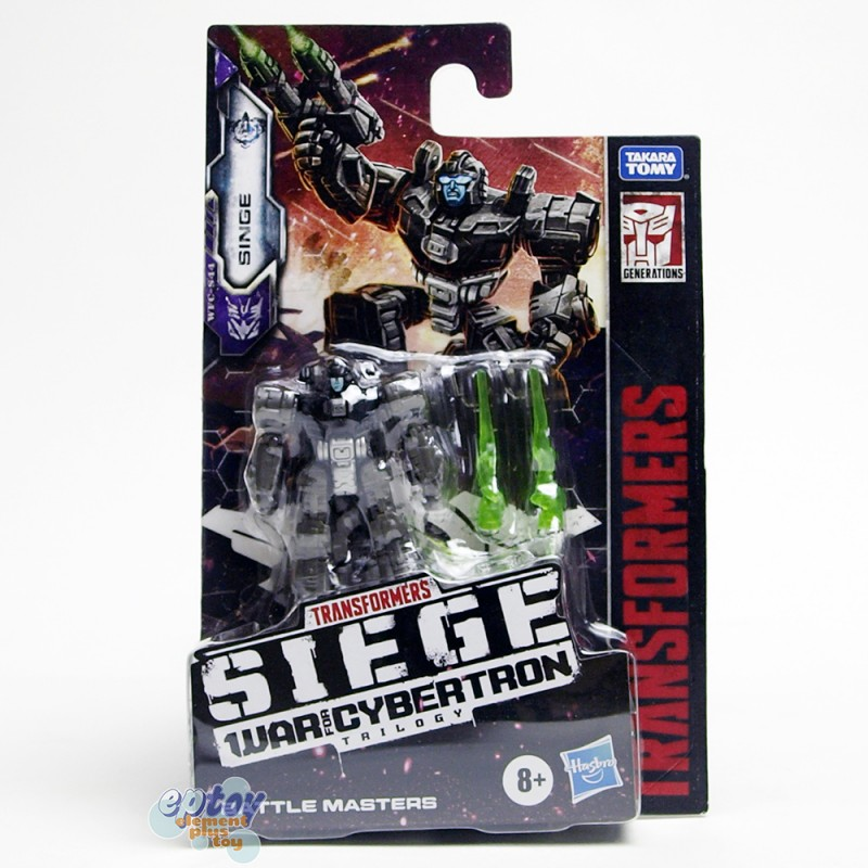 Transformers WFC SIEDE War For Cybertron Battle Masters S44 Singe & S45 Rung
