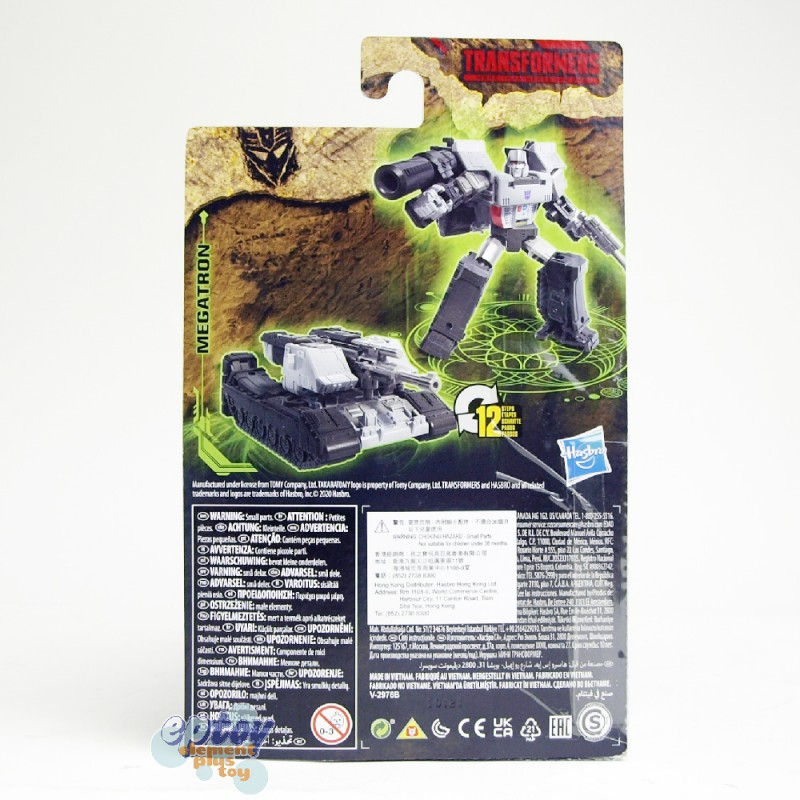 Transformers WFC Generations Kingdom War For Cybertron Core Class WFC-K13 Megatron