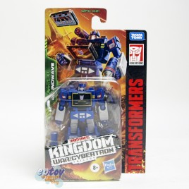 Transformers WFC Generations Kingdom War For Cybertron Core Class K21 Soundwave