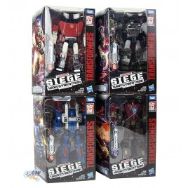 Transformers WFC SIEDE War For Cybertron Deluxe Class Skytread Hound COG Sideswipe Set
