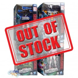 Transformers WFC Earthrise War For Cybertron Deluxe Class Arcee Airwave Quintesson Allicon Smokescreen