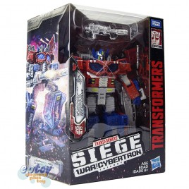 Transformers WFC SIEDE War For Cybertron Leader Class Galaxy Upgrade Optimus Prime