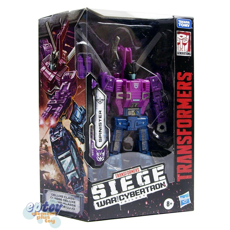 Transformers WFC SIEDE War For Cybertron Deluxe Class S48 Spinister