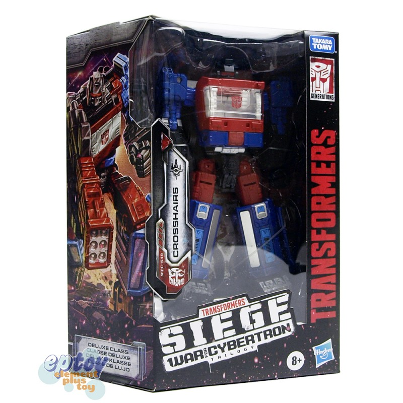 Transformers WFC SIEDE War For Cybertron Deluxe Class S49 Crosshairs