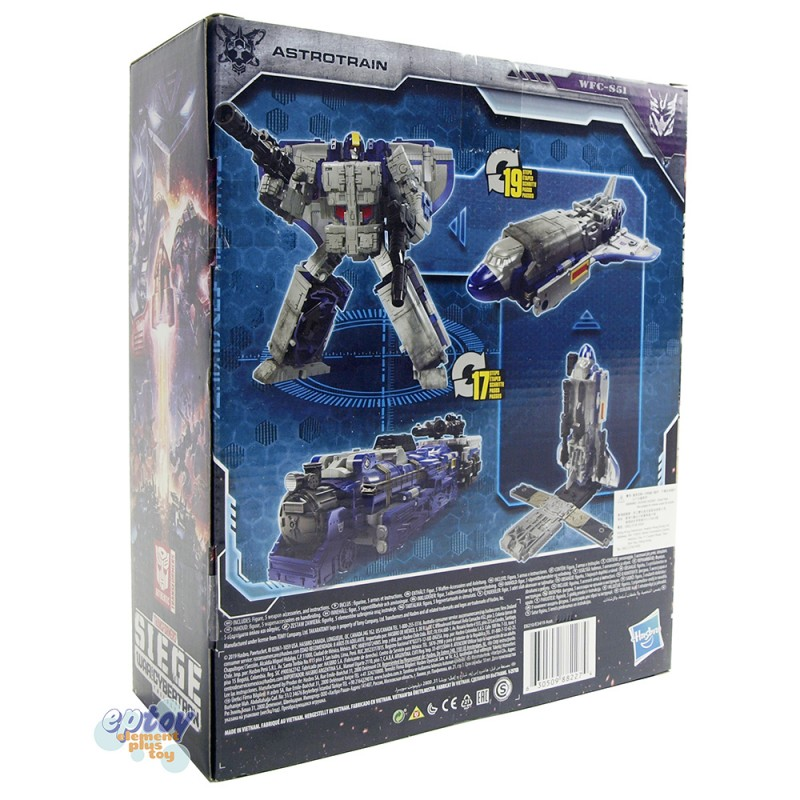 Transformers WFC SIEDE War For Cybertron Leader Class S51 Astrotrain