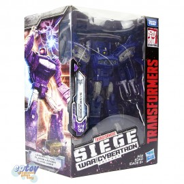 Transformers WFC SIEDE War For Cybertron Leader Class Shockwave