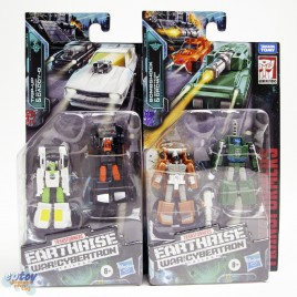 Transformers WFC Earthrise War For Cybertron Micro Masters Trip-up Daddy-O Bombshock Growl