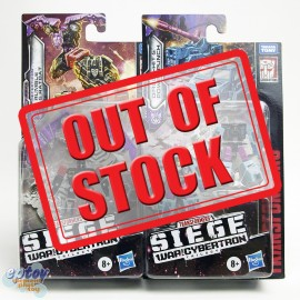 Transformers WFC SIEDE War For Cybertron Micro Masters S46 Rumble Ratbat S47 Direct-hit Power Punch