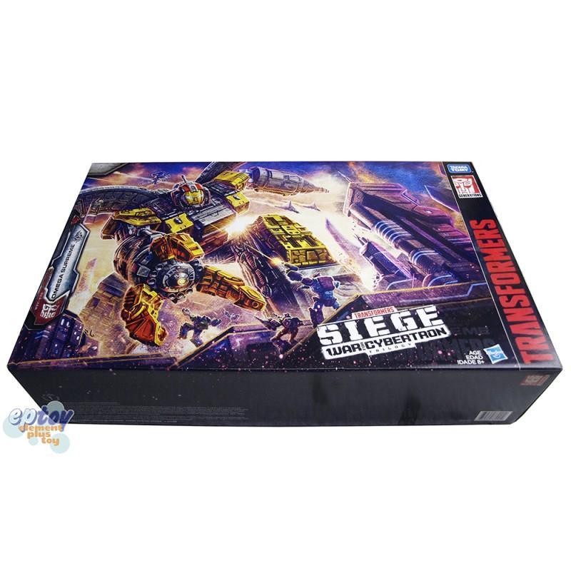 Transformers WFC SIEDE War For Cybertron Titan Class S29 Omega Supreme