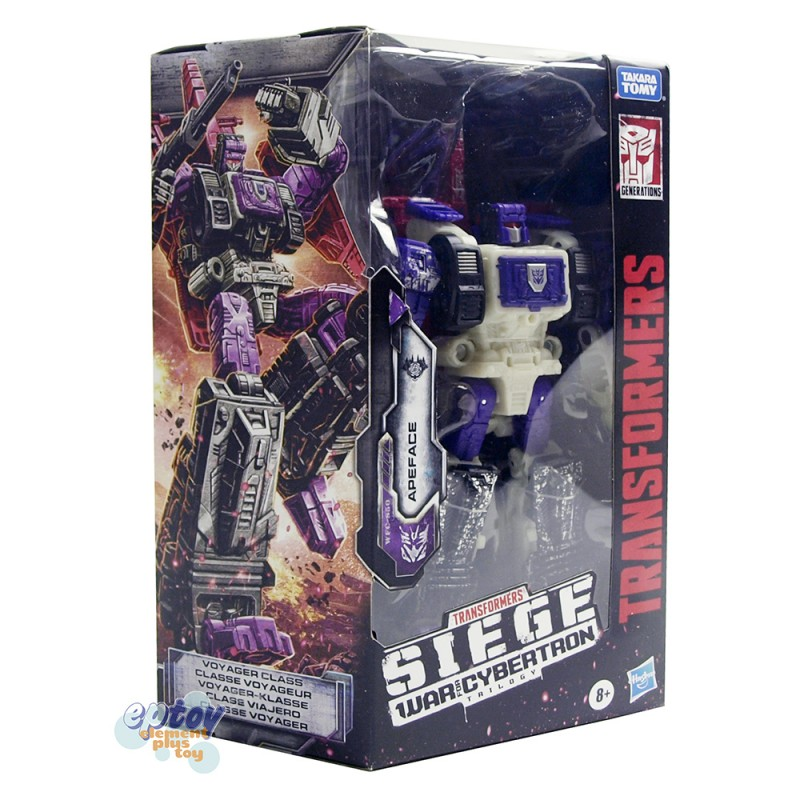 Transformers WFC SIEDE War For Cybertron Voyager Class S50 Apeface