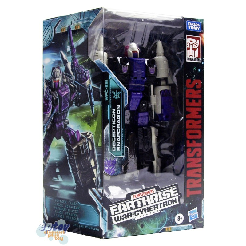 Transformers WFC Earthrise War For Cybertron Voyager Class E21 Decepticon Snapdragon