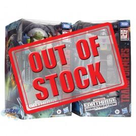 Transformers WFC Earthrise War For Cybertron Voyager Class E22 Quintesson Judge E38 Megatron Set
