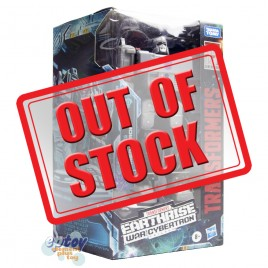 Transformers WFC Earthrise War For Cybertron Voyager Class E38 Megatron
