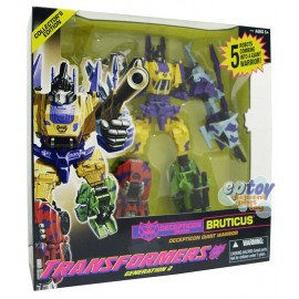 Transformers Generations Deception Giant Warrior Bruticus Collector's Edition