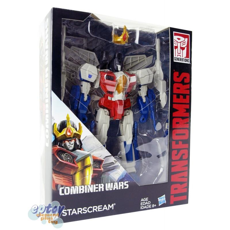 Transformers Generations Combiner Wars Leader Class Starscream ...