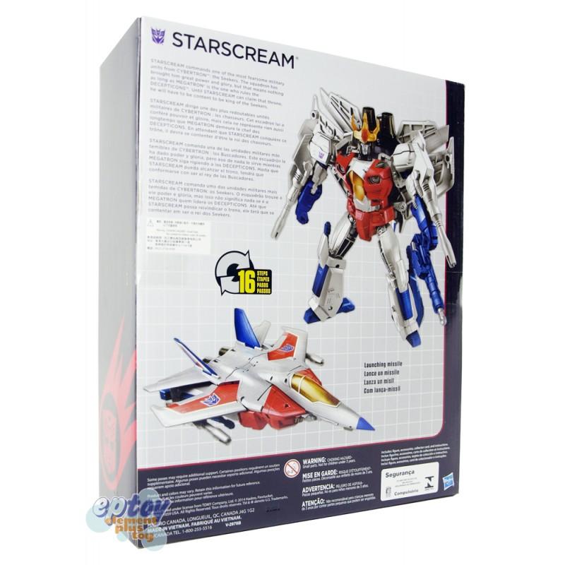 ... Transformers Generations Combiner Wars Leader Class Starscream