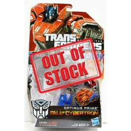 Transformers Generations Fall Of Cybertron Deluxe Class Optimus Prime