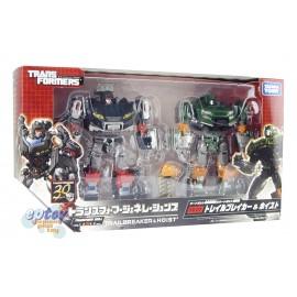 Transformers Generations TG-27 Trailbreaker & Hoist