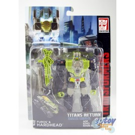 Transformers Generations Titans Return Deluxe Class Furos & Hardhead