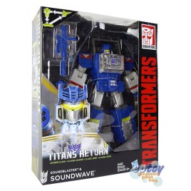 Transformers Generations Titans Return Leader Class Soundwave