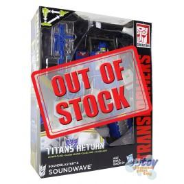 Transformers Generations Titans Return Leader Class Soundwave