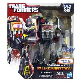 Transformers Generations Fall of Cybertron Voyager Class Soundblaster & Buzzsaw