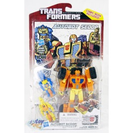 Transformers Generations Thrilling 30 Deluxe Class Autobot Scoop