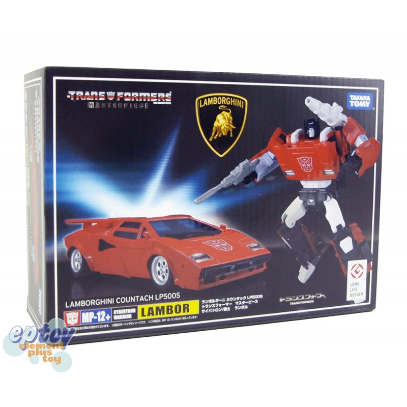 Transformers Masterpiece MP-12+ Lamborghini Countach LP500S Lambor